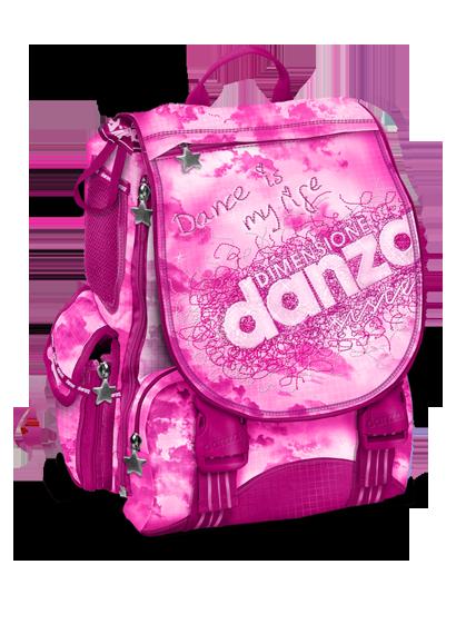 saldi bambino moda firmata Zaino Estensibile Dimensione Danza Sisters New Pink