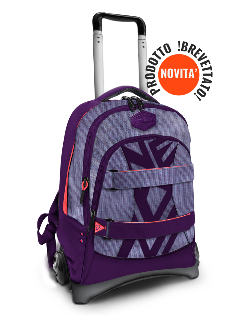 Carry – trolley staccabile ONE WAY VIOLET